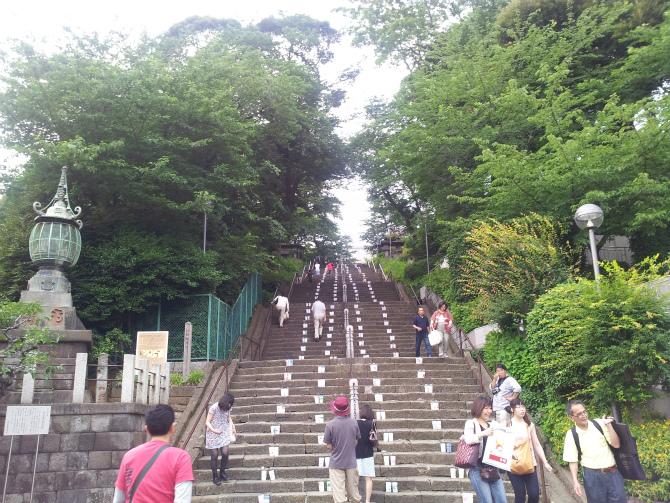 池上本門寺キャンドルナイト 2013-06-15 17.33.42