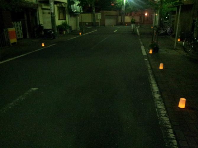 池上本門寺キャンドルナイト 2013-06-15 20.28.01