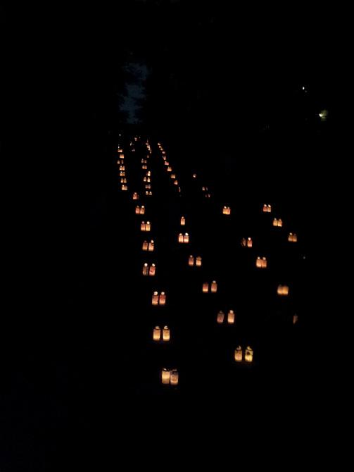 池上本門寺キャンドルナイト 2013-06-15 20.33.04