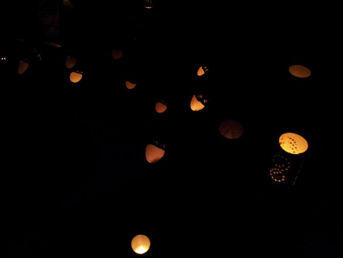 池上本門寺キャンドルナイト 2013-06-15 20.35.30
