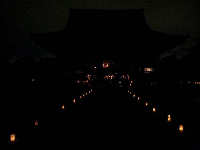 池上本門寺キャンドルナイト 2013-06-15 20.36.19