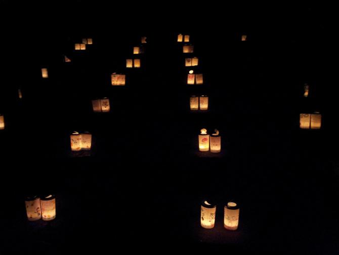 池上本門寺キャンドルナイト 2013-06-15 20.48.10
